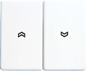 Jung Wippe Symbole schwarz für Taster SL 595 P SW