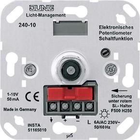 Jung Elek.Potentiometer für EVGs/Trafos 240-10