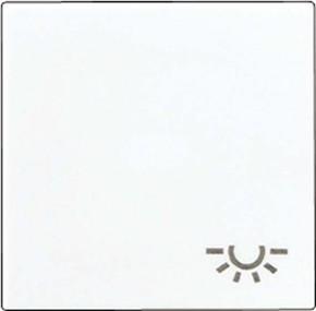 Jung Wippe Symbol LICHT alpinweiß für Schalter/Taster A 590 L WW