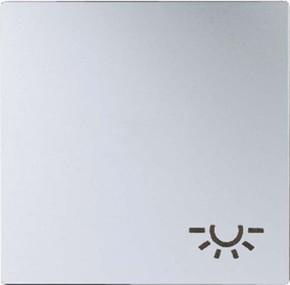 Jung Wippe Symbol LICHT aluminium für Schalter/Taster A 590 L AL