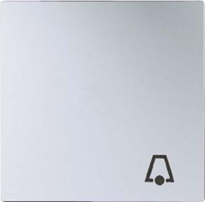 Jung Wippe Symbol KLINGEL aluminium für Taster A 590 K AL