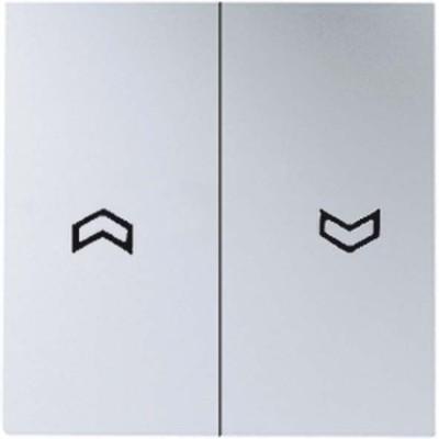 Jung Wippe Symbole aluminium für Jal.Wippschalter A 595 P AL