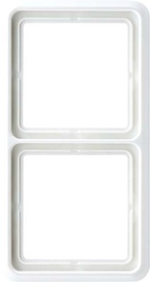 Jung Rahmen 2-fach schwarz waage/senkrecht CD 582 SW