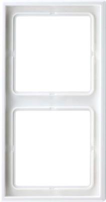 Jung Rahmen 2-fach alpinweiß waage/senkrecht LS 982 WW