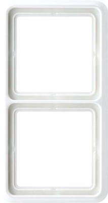 Jung Rahmen 2-fach alpinweiß waage/senkrecht CD 582 WW