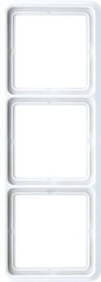 Jung Rahmen 3-fach alpinweiß waage/senkrecht CD 583 WW