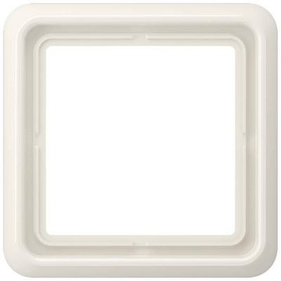 Jung Rahmen 1-fach weiß waage/senkrecht CD 581 W
