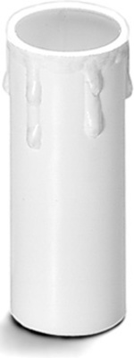 Houben Kerzenhülse E14 Tropfen,ws,65mm 100161
