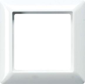 Jung Rahmen 2-fach weiß waage/senkrecht AS 582