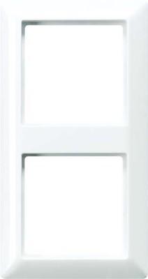 Jung Rahmen 2-fach alpinweiß waage/senkrecht AS 582 BF WW
