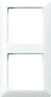 Jung Rahmen 2-fach alpinweiß waage/senkrecht AS 582 WW