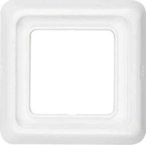 Berker Rahmen 1-fach polarweiß/ glänzend mit Dichtung IP44 132809