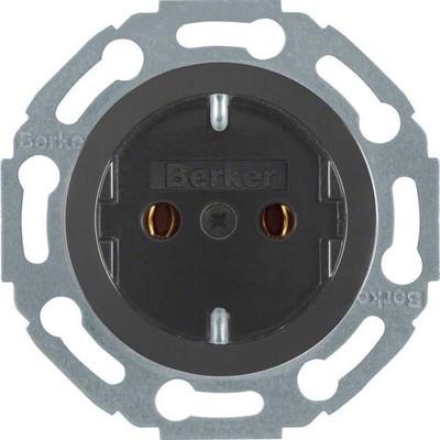 Berker Steckdose sw/gl 1-fach 475501