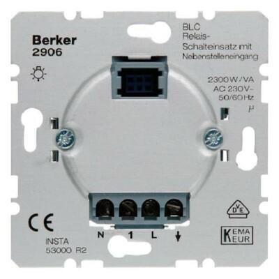 Berker Relais Schalteinsatz mit Nebenstelleneing 2906