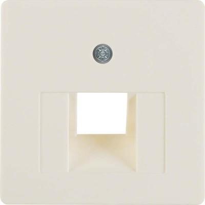 Berker Zentralplatte weiß f.UAE-Anschlussdose 146802