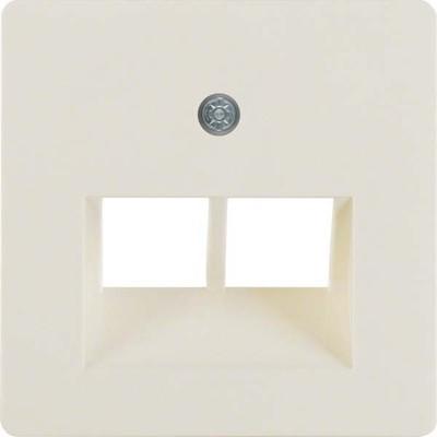 Berker Zentralplatte weiß f.ISDN-Anschlussdose 146902