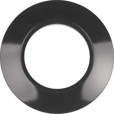 Berker Ringplatte 1-fach sw 138101