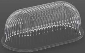 RZB Ersatzglas oval 650-3002