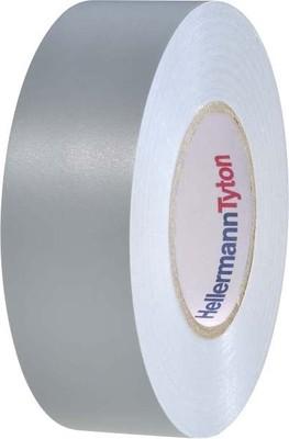 HellermannTyton PVC Isolierband 15-19x20 grau HTAPE-FLEX15-19x20GY