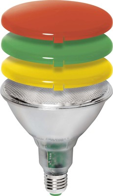 Megaman Diffusordeckel gelb für ESL PAR38 MM 16253