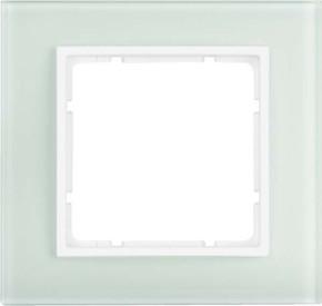 Berker Rahmen 1-fach pws senkrecht/waagerecht 10116909
