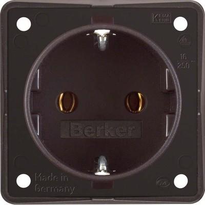 Berker Schuko-Steckd.br m.Steckklemmen 947782501
