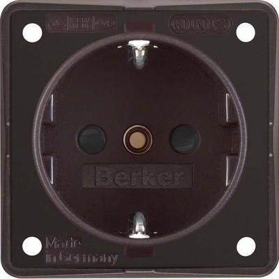Berker Schuko-Steckd.br m.Schraubklemmen 941952501