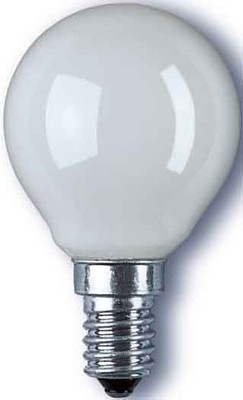 Radium Lampenwerk Backofenlampe matt D 40W/240/300C/F/E14