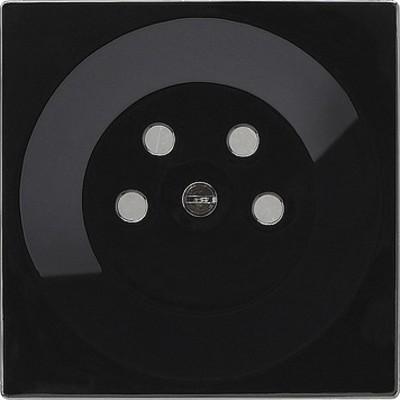 Gira Abdeckung schwarz S-Color-System 077947