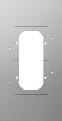 Gira Montageplatte 2-fach 129700