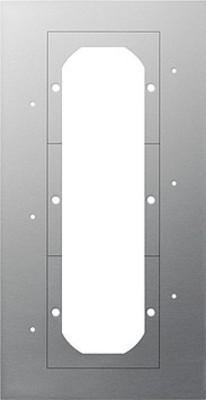 Gira Montageplatte 3-fach 129800