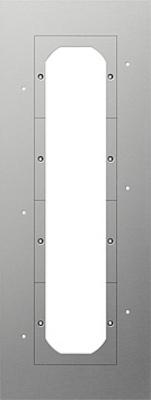 Gira Montageplatte 4-fach 129900