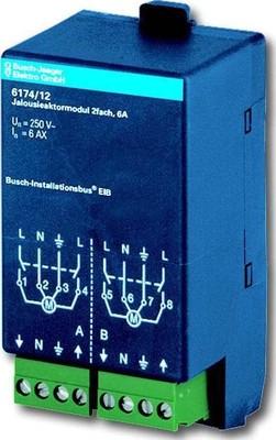 Busch-Jaeger Jalousieaktormodul 2-fach 6174/12