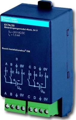 Busch-Jaeger Binäreingangsmodul 4-fach 6174/20