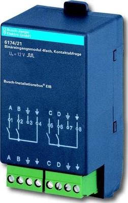 Busch-Jaeger Binäreingangsmodul 4-fach 6174/21