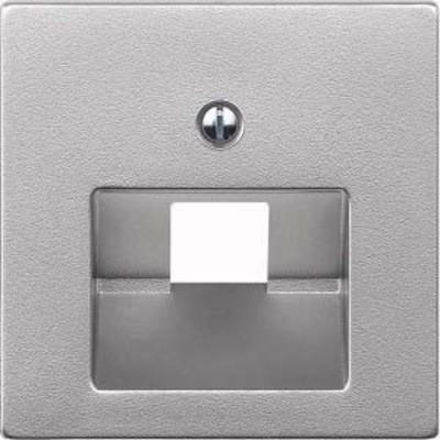 Merten Zentralplatte aluminium für UAE-Einsatz 1-fach 298360