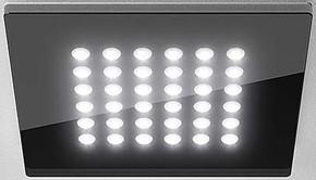 LTS Licht&Leuchten EB-Downlight 3000K DOMFLQ 206.30.02 sw