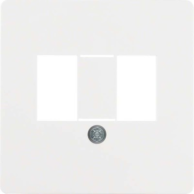 Berker Zentralplatte f.TAE-Anschlussdose 145809