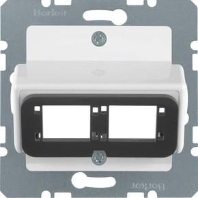 Berker Zentralplatte pws f.Dopp.-Modul 146109