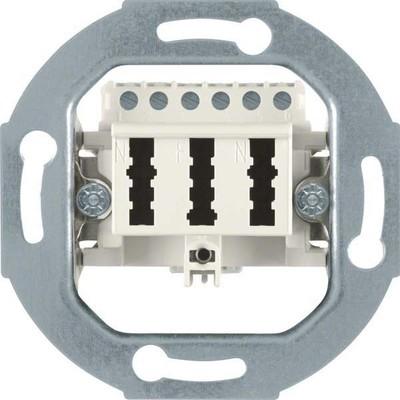 Berker TAE-Anschlußdose weiß mit Schraubklemmen 450002