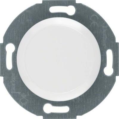 Berker Blindverschluss polarweiß glänzend mit Zentralstück 100920