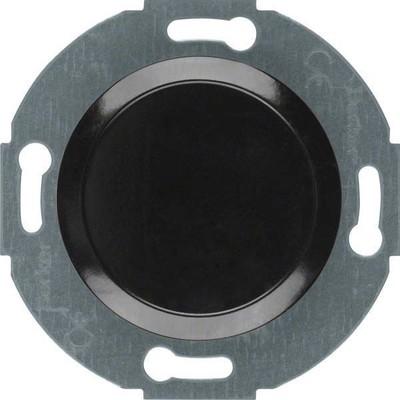 Berker Blindverschluss schwarz mit Zentralstück 100921