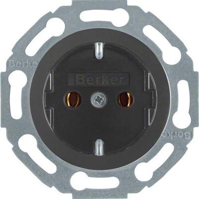 Berker Schuko-Steckd.sw mit Schraubklemmen 414521