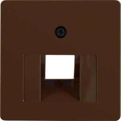 Berker Zentralplatte br/gl für UAE-Steckdose 146801