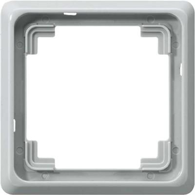 Jung Rahmen 1-fach lichtgrau waage/senkrecht CDP 581 LG