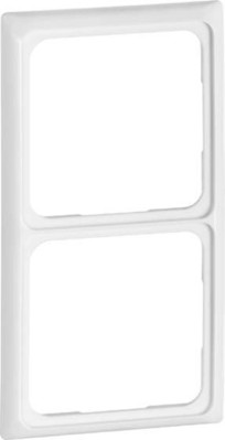 Peha Rahmen 2-fach reinweiß waage/senkrecht D 80.572.02