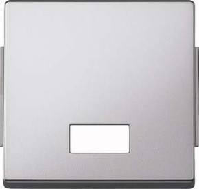 Merten Wippe Symbol Fenster aluminium rechteckig 343860