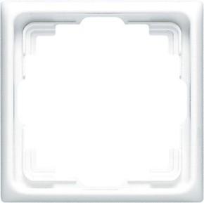 Jung Rahmen 1-fach weiß waage/senkrecht CD 581 K W