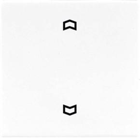 Jung Wippe Symbole weiß für Taster LS 990 P
