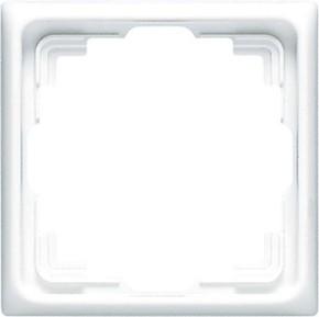 Jung Rahmen 1-fach alpinweiß waage/senkrecht CD 581 K WW